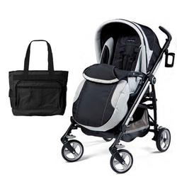 Peg Perego Switch Four with a Diaper Bag - Southpole