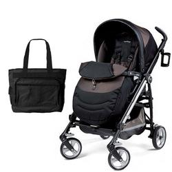 Peg Perego Switch Four with a Diaper Bag - Newmoon