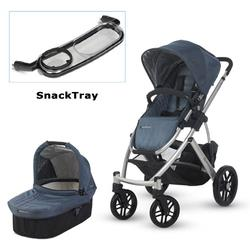 UPPAbaby 0112-COL Cole VISTA Stroller with SnackTray - Slate