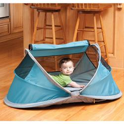 KidCo P104, PeaPod Portable Travel Bed - Ocean