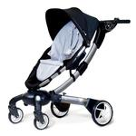 4moms 4M00601 Origami power-folding stroller - Silver