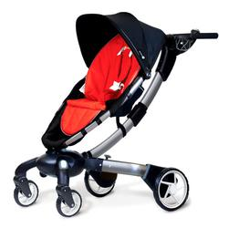 4moms 4M00601RED Origami power-folding stroller - Red