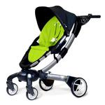 4moms 4M00601GRN Origami power-folding stroller - Green