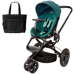 Quinny CV078BFQ Moodd Stroller in Green Courage With a Diaper Bag