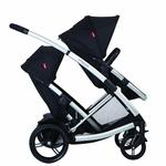 Phil & Teds PRV15200 Promenade urban stroller Doubles Kit - Black