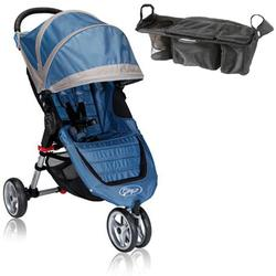 Baby Jogger BJ11221 City Mini Single With Parent Console - Blue/Gray