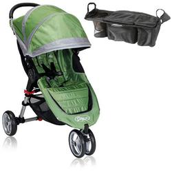Baby Jogger BJ11240 City Mini Single With Parent Console - Green/Gray