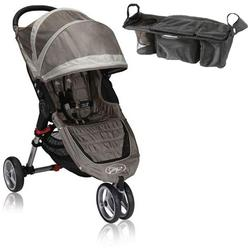 Baby Jogger BJ11257 City Mini Single With Parent Console - Sand/Stone