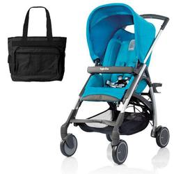 Inglesina AG54D5LBLUS AVIO Stroller with Diaper Bag - Light Blue