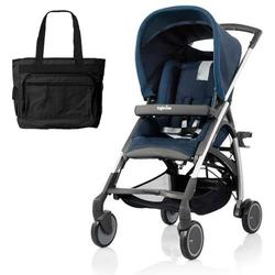 Inglesina AG54D5NAVUS AVIO Stroller with Diaper Bag - Navy