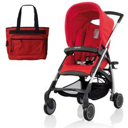 Inglesina AG54D5REDUS AVIO Stroller with Diaper Bag - Red
