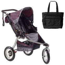 BOB ST1027, Revolution CE (City Experience) with Diaper Bag - Plum