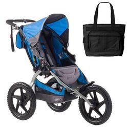 BOB ST1001, Sport Utility Stroller with Diaper Bag - Blue