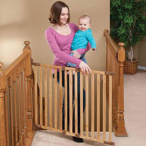 Angle Mount Wood Safeway Gates