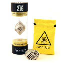 Nanodots 216ORIGNANO - 216 Original Nanodots Magnetic Constructor with Carry Pouch