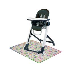 Peg Perego Siesta  High Chair with Splat Matt - Licorice
