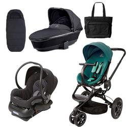 Quinny Moodd Stroller Complete Collection in Green Courage