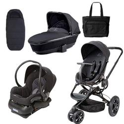 Quinny Moodd Stroller Complete Collection Black Devotion