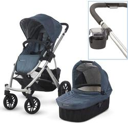 UPPAbaby 0112-COL Cole VISTA Stroller With Cup holder - Slate