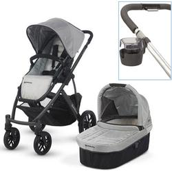 UPPAbaby 0112-MCA Mica VISTA Stroller With Cup holder - Silver