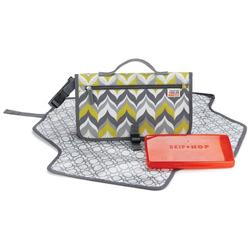 Skip Hop 202201 Pronto Jonathan Adler Diaper Bag - Flame Yellow