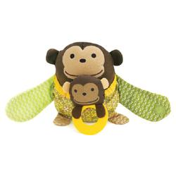 Skip Hop 307511 Hug & Hide Stroller Toy - Monkey