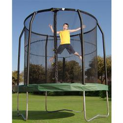 Bazoongi Kids BZJP7506 BAZOONGI 7.5' Trampoline with enclosure
