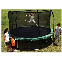 Bazoongi Kids JP1514C JUMPPOD 15' Trampoline and Enclosure