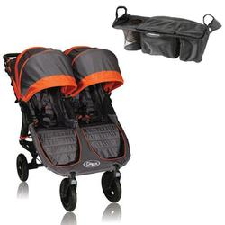 Baby Jogger Bj16239 City Mini Gt Double With Parent Console Shadow Orange Free Shipping Coupons And Discounts May Be Available