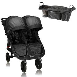 Baby Jogger BJ16210 City Mini GT Double With Parent Console - Black/Shadow