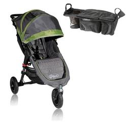 Baby Jogger BJ15240 City Mini GT Single With Parent Console - Shadow/Green