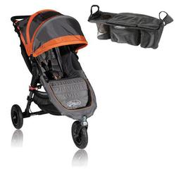 Baby Jogger BJ15239 City Mini GT Single With Parent Console - Shadow/Orange