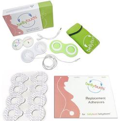 Bellybuds - Pregnancy Bellyphones with BellyBud 4 pack replacement adhesive rings