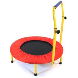 Redmon 9207 Fun & Fitness Health Systems for Kids Trampoline with Handlebar