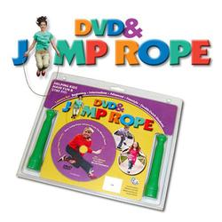 Redmon 9220 Fun & Fitness Health Systems for Kids Complete Instructional DVD & Jump Rope