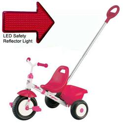 Kettler 8152-899, Kettrike Kalista Tricycle with Pushbar and LED Reflector Light
