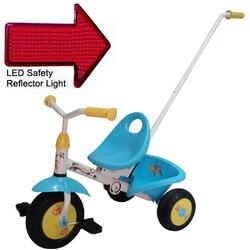 Kettler 8120-700, Fold n' GoNanas Tricycle with Pushbar and LED Reflector Light