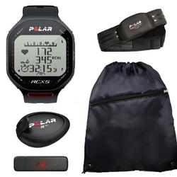 Polar 90038884, RCX5sd - RUN in Black With Cinch Bag