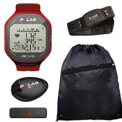 Polar 90042063, RCX5 sd - RUN in Red With Cinch Bag