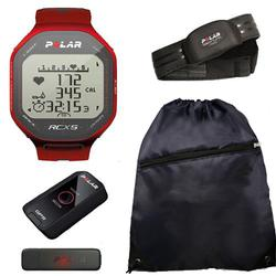 Polar 90042072, RCX5 G5 - MULTI in Red With Cinch Bag