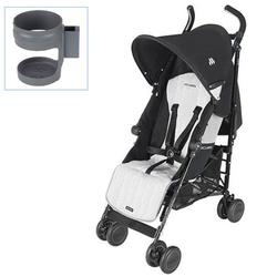 Maclaren WDN04042, Quest Sport with Cup holder - Black/Silver