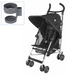 Maclaren WDN11022, Globetrotter Stroller with Cup holder - Black
