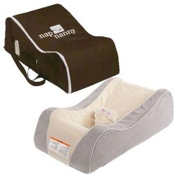 Nap Nanny CH6080 Chill Platinum with Chocolate Travel Bag