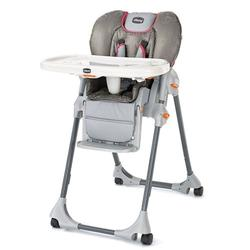 Chicco 07079071670 Polly Double Pad High Chair, Foxy