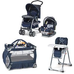 Chicco Pegaso Kit Stroller System, High Chair and Play Yard Combo - Pegaso