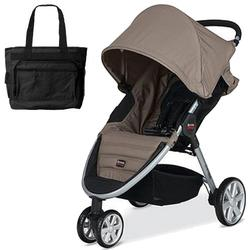 Britax - B-Agile with Diaper Bag in Sandstone