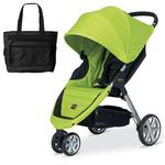 Britax U341764 - B-Agile with Diaper Bag in Kiwi