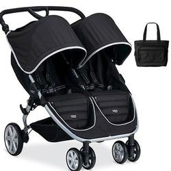 Britax B-Agile Double Stroller with matching diaper bag - Black
