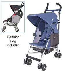 Maclaren WDN11032, Globetrotter Stroller with Pannier Bag - Crown Blue