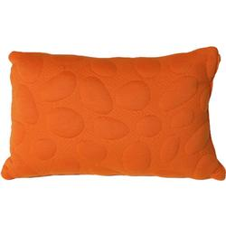 Nook Sleep Systems PIL-PEB-POP Pebble Queen Size Pillow - Poppy (Bright Orange)